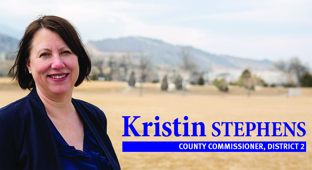 Image of Kristin Stephens, candidate for Larimer County Board of Commissioners, District 2